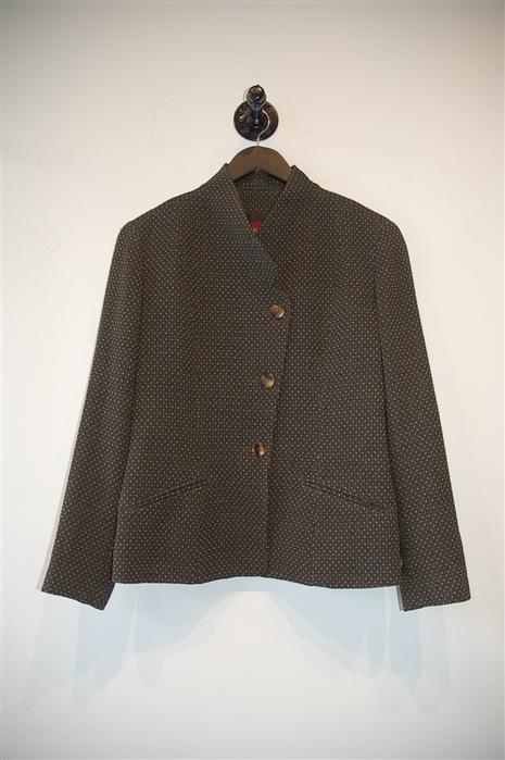 Olive Kenzo - Vintage Blazer, size 8