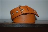 Saddle Brown Prada Belt, size M