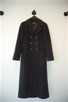 Charcoal Akris - Punto Coat, size 4