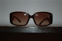 Dark Brown Coach Sunglasses, size O/S