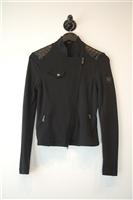 Basic Black Belstaff Zippered Jacket, size 4