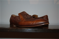 Burnished Brown Gucci Loafer, size 10.5