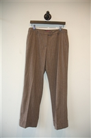 Brown Stripe Etro Trouser, size 8