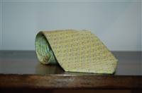 Green Apple Hermes Tie, size O/S