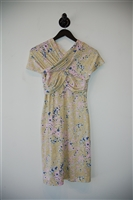Abstract Print Carven Jersey Dress, size S