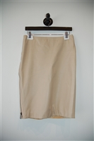 Beige Gucci Pencil Skirt, size 6