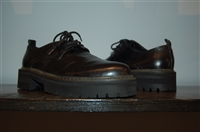 Black Leather Ann Demeulemeester Derby, size 8