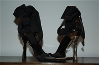 Black Leather Gucci Sandal, size 7.5