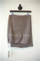 Taupe Max Mara Scarf, size O/S