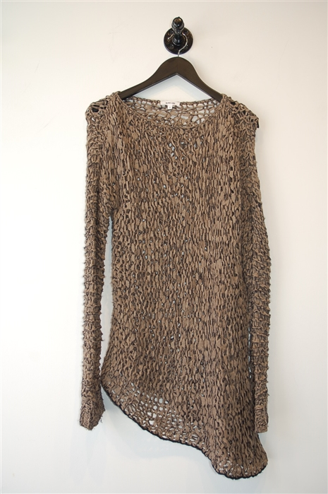 Dark Taupe Helmut Lang Pullover, size S