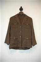 Dark Bronze Theory Jacket, size 10