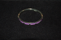 Violet Coach Bangle, size O/S