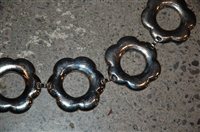 Steel No Label Belt, size O/S