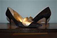 Black & Gold Roger Vivier Pumps, size 8.5