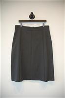 Dark Ash Akris Pencil Skirt, size 14