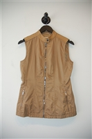 Tan Prada Vest, size M