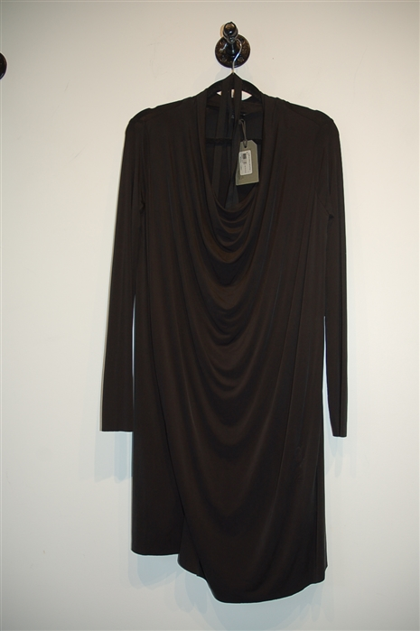 Basic Black All Saints Shift Dress, size S