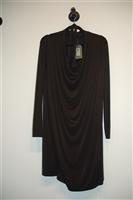 Basic Black All Saints Shift Dress, size S