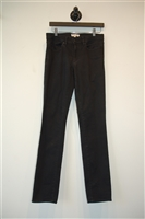 Basic Black Tory Burch Slim-leg Jean, size 28