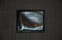 Black Leather Gucci Wallet, size O/S