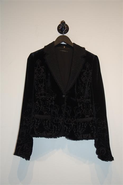 Black Velvet Elie Tahari Jacket, size M