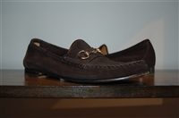 Black Suede Gucci Loafer, size 8