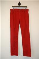 Deep Red Alexander McQueen - McQ Denim, size 32