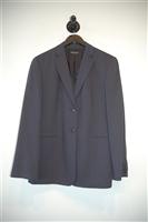 Navy Stripe Marlowe Pant Suit, size 14