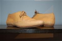 Tan Prada Desert Shoe, size 7.5