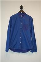 Blue Tones Acne Studios Button Shirt, size M