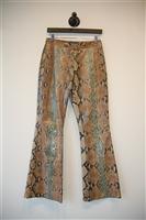 Snakeskin Gucci Python Trouser, size 4