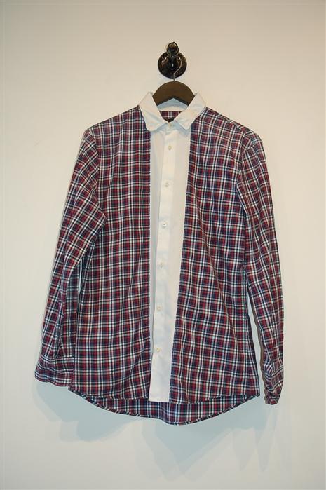 Check DSquared2 Button Shirt, size M