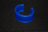 Azure Blue No Label Bangle, size O/S