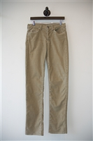 Beige 7 For All Mankind Cords, size 31