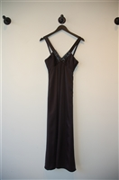 Satin Black BCBG Maxazria Evening Dress, size 0