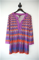 Abstract Print BCBG Maxazria Tunic Top, size M