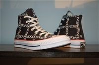 Black & White Converse x J.W. Anderson High-Top Sneaker, size 8