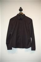 Basic Black Tara Jarmon Button Shirt, size 4