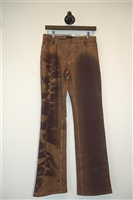 Mixed Browns Just Cavalli Boot-Cut Jean, size 29