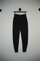Basic Black Hermes Riding Pants, size 4