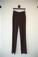 Dark Chocolate Valentino Trouser, size 2