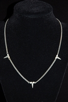 Silver Jenny Bird Necklace, size O/S