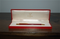 Bordeaux Cartier Pen, size O/S
