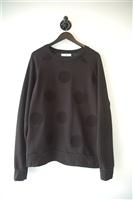 Basic Black Ami - Alexandre Mattiussi Sweatshirt, size XL