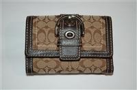 Monogram Coach Wallet, size S