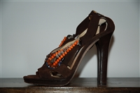 Coffee Jimmy Choo Sandal, size 7