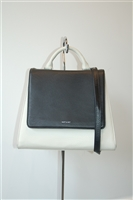 Black & White Matt & Nat Satchel, size L