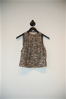 Black & Beige Alice + Olivia Shell, size S
