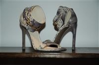 Animal Print Gucci Sandal, size 10