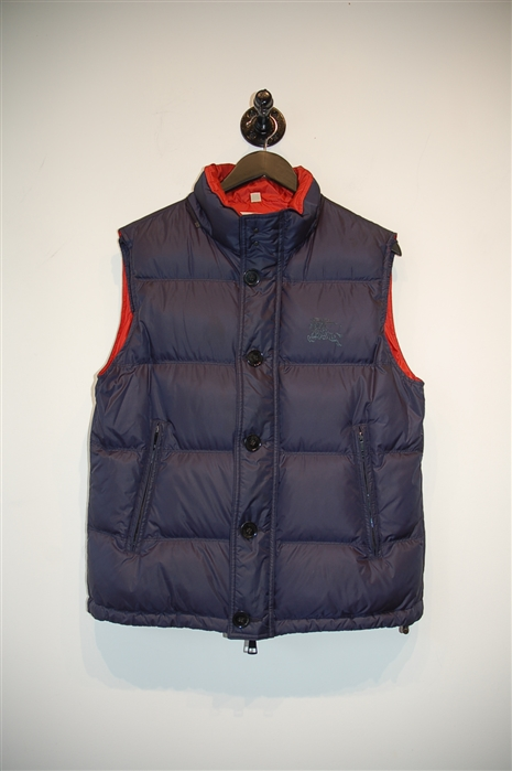 Navy Burberry - Brit Puffer Vest, size S